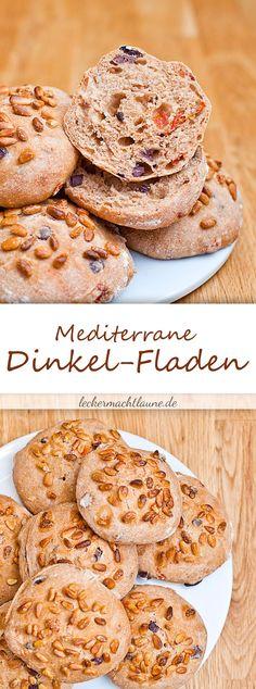 Mediterrane Dinkel-Brotfladen