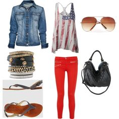 Americana, created by thecourtneyleigh on Polyvore