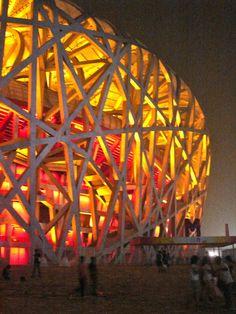 Bird's Nest stadium, Beijing. #SecretTreasures