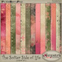The Softer Side of Life ~ Paper Art {by Jumpstart Designs}