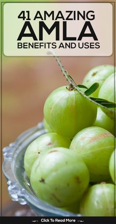 "In this post, we have compiled a list of numerous benefits of Amla. Read on to discover why it is popularly known as the ""Wonder Fruit"". Ayurvedic Herbs, Ayurveda, Fruit Benefits, Health Benefits, Goose Berry, Grain Foods, Food Science, Health Foods, Almonds"