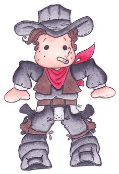 Made by Nanda. Magnolia Colors, Sweet Magnolia, Colouring Pics, Baby Images, Cowboy And Cowgirl, Tole Painting, Digi Stamps, Tampons, Copics