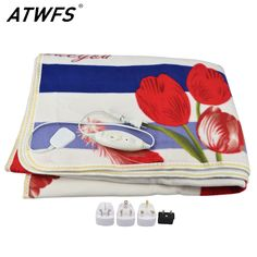 check price atwfs electric blanket plush double heated blanket security blanket thicker single #thermostat #wiring