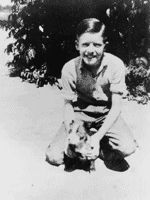 1937 ~ Future President Jimmy Carter At 12 Years Old With His Dog Bozo Jimmy Carter, Presidents Wives, American Presidents, American History, Greatest Presidents, The One, Presidential History, Presidential Trivia, Nanny Dog