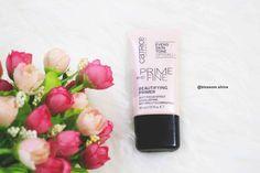 Beautifying - Catrice Primer #catricecosmetics #faceprimer #catricefaceprimer #review #makeup #Facemakeup www.blossomshine.com