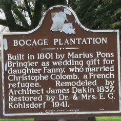 Bocage Plantation, Louisiana
