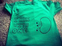 6 weeks post kidney donation, 5k run.