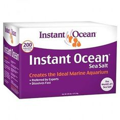 Cleaning and Maintenance 148983: Instant Ocean Sea Salt, 200Gallon -> BUY IT NOW ONLY: $52.66 on eBay!