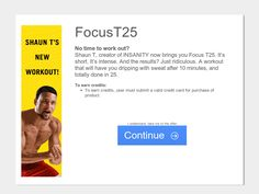 Focus T25 - US and CA