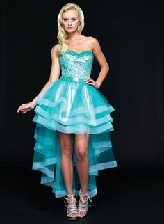 85ca064802d Check out the deal on Sean Couture 70689 High Low Sequin Party Dress at French  Novelty