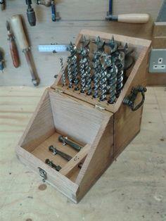Auger box | goatboy's woodshop