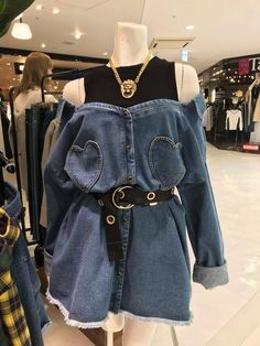 Lucu banget in 2020 Teen Fashion Outfits, Edgy Outfits, Mode Outfits, Korean Outfits, Grunge Outfits, Cute Fashion, Girl Outfits, Fashion Dresses, Vintage Fashion