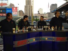 Mike & Mike's trip to Cleveland with Greg & Bob Golic. Mike And Mike, Fighting Irish, Espn, Cleveland, Notre Dame, Bob, University, College, Bob Cuts
