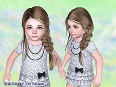•Sims 3 hairstyle ~Awww bby~