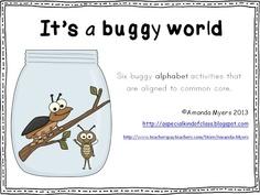 It's a buggy world alphabet centers