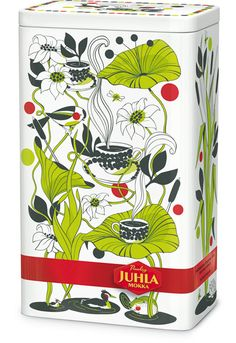 I LOVE this illustrator: Pietari Posti. Latest designs for Finnish coffee tin.