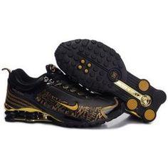 c604ff30d3f Nike Shox Dream Black Gold Men Shoes  79.59 Nike Shox For Women