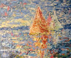 Voyage  oil on canvas