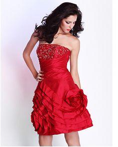 Prom Dresses Free Measurements ! A-line Strapless Knee-length TaffetaCocktail/Prom Dress Discount Online Shopping  http://www.e1eveningdress.com/pd--p-655821-a-0-ex-0-pn-Prom-Dresses-Free-Measurements-!-A-line-Strapless-Knee-length-TaffetaCocktail/Prom-Dress-Discount-Online-Shopping.html