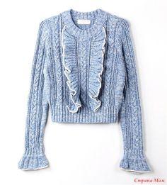 Unique Fashion, High Fashion, Knit Picks, Feminine Style, Polyvore Outfits, Knitwear, Women Wear, Crochet, Clothes For Women