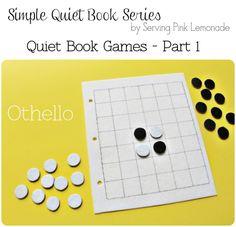 Simple Quiet Book Series with Serving Pink Lemonade