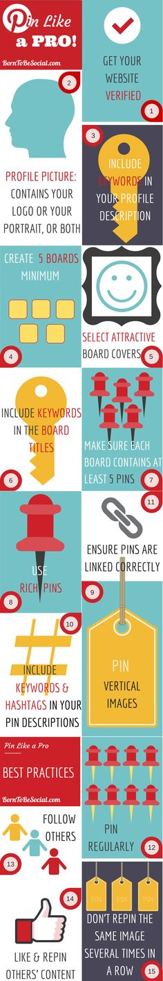 The beauty of Pinterest is that it's so simple, but its simplicity can be deceptive. There are some basic guidelines to follow to optimise results for your business. I have summarised some #Pinterest essentials in an #infographic for you.