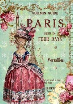Fabric Block Marie Antoinette