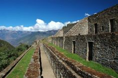 Choquequirao.  This world is really awesome. The woman who make our chocolate think you're awesome, too. Please consider ordering some Peruvian Chocolate today! Fast shipping! http://www.amazon.com/gp/product/B00725K254