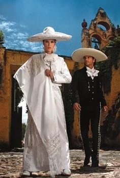 Traditional Regional Outfits from the Mexican State of Jalisco.