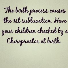 Have your child checked!  Peet Family Chiropractic, PC 239 Lakeside Road, Suite # 3 Newburgh, NY 12550  Spinalhygiene.com