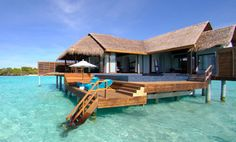 The waves belong only to you…or so it would seem at the Anantara Kihavah Villas, a five-star, Green Globe certified resort in the Maldives.