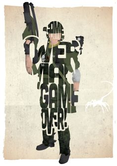 Game Over Man - Aliens | 17th and Oak - film, music and personalised gifts