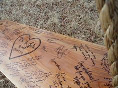 Tree swing guestbook! OH MY GOSH, I'm in love with this<3 <3 alternative for weddings by BlueFoxWillow, $145.00