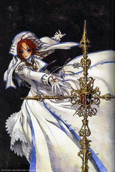 Trinity Blood, Esther Blanchett, Shibamoto Thores