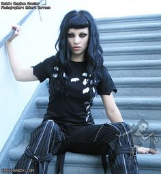 #Goth cutie