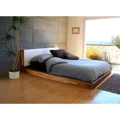 LAX Series by Mash Platform Bed + Headboard (Queen) | www.modlivin.com |