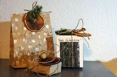 Sustainable eco-friendly gift wrapping. Sustainable gift wrapping.