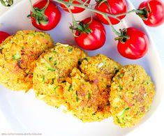 Knusprige Quinoa - Zucchini Patties (Glutenfrei & Vegan) von www.greenysherry.com