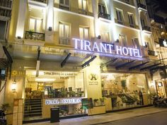 Hanoi Tirant Hotel Vietnam, Asia Ideally located in the prime touristic area of Old Quarter, Tirant Hotel promises a relaxing and wonderful visit. Offering a variety of facilities and services, the hotel provides all you need for a good night's sleep. To be found at the hotel are free Wi-Fi in all rooms, 24-hour front desk, 24-hour room service, facilities for disabled guests, express check-in/check-out. Comfortable guestrooms ensure a good night's sleep with some rooms featur...