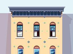 West Village Building 2/3 - Nathan Manire | Illustrator