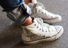 12 Best Studded Converse images  87db189d6