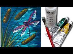 How to Paint a Cardinal Acrylic Painting Tutorial | Live Full Length Free Lesson | Angelooney - YouTube
