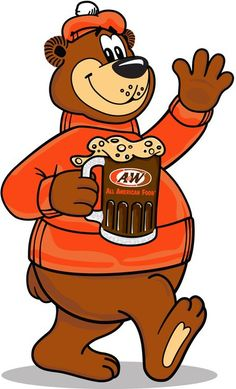The Great Root Bear from A&W