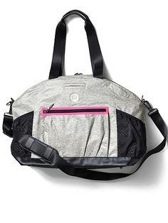All sport gym bag in heather grey