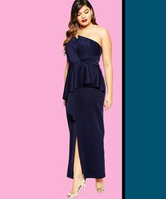 50ded686a4 13 Plus-Size Formal Dresses For Showing Off Your Curves