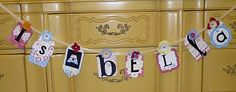 Should make these for the kiddos rooms - with diff fonts & colors than the pic, but you get the gist. =)