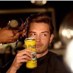 WEBSTA @ chico_lachowski - When you not allowed to get a drink at @amfar party but you bring your beer anyways! #tocoolforschool #tuxedomyass  #cheers #charity