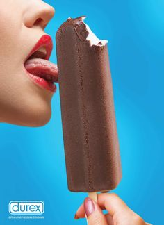 #Durex: Ice cream bar #ads #print
