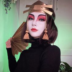 Cosplay Lindo, Cute Cosplay, Amazing Cosplay, Cosplay Outfits, Best Cosplay, Suki Avatar, Avatar Kyoshi, Avatar Airbender, The Last Airbender