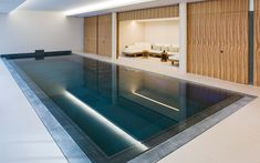 Indoor pool design by David Collins #interiordesigner #bestinteriordesigners #interiordesigninspiration home interior design, interior design ideas, interior decorating ideas Visit us at www.luxxu.net